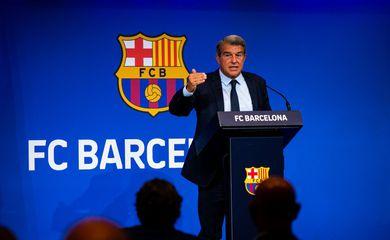 Joan Laporta, presidente do Barcelona - Barça