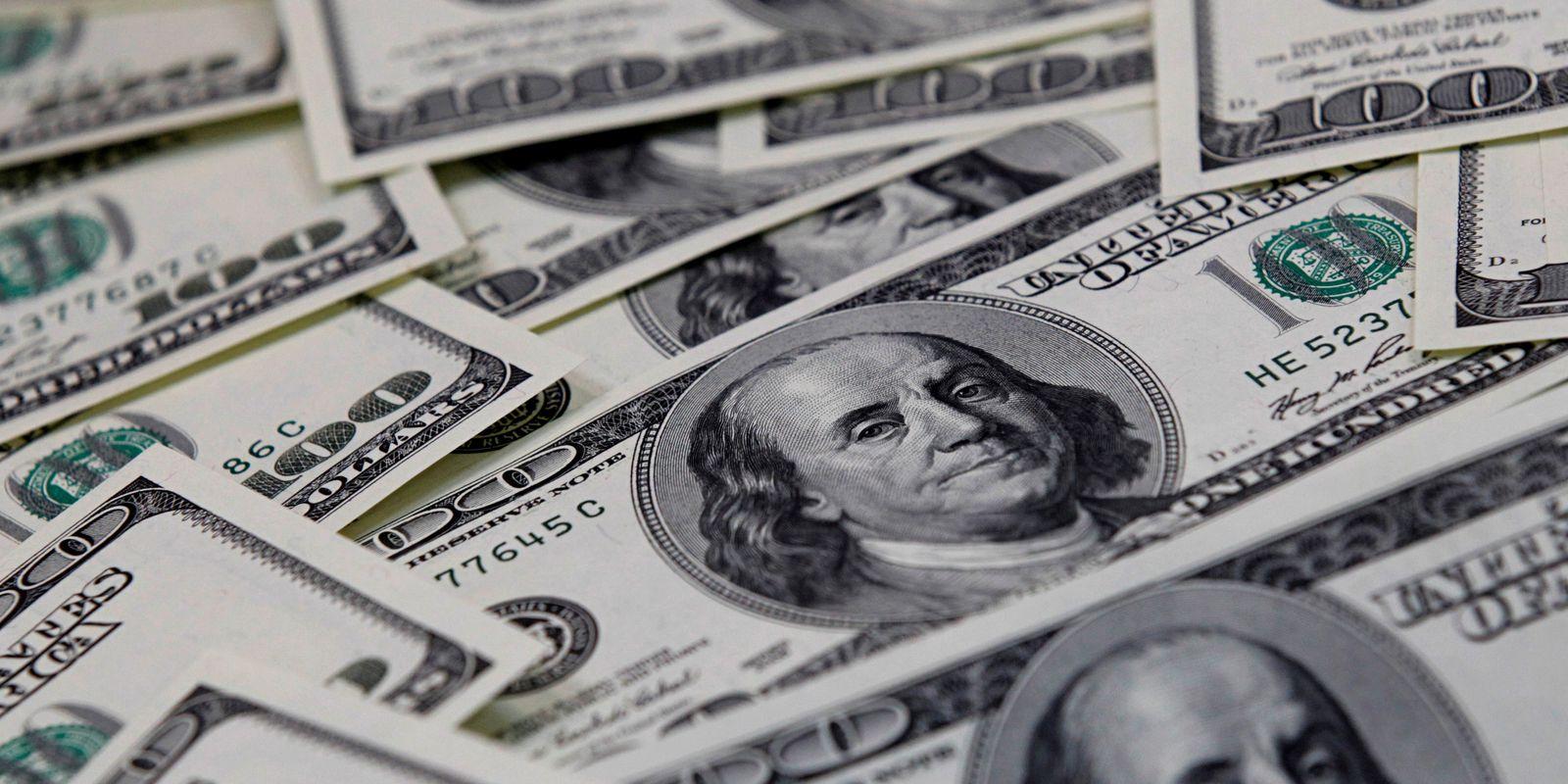 dólares, dólar, moeda americana