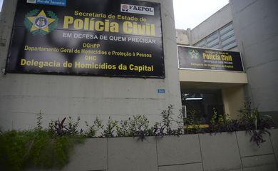 INVESTIGAÇÃO DA MORTE DA MENINA ÁGATHA DELEGACIA DE HOMICÍDIOS DA CAPITAL