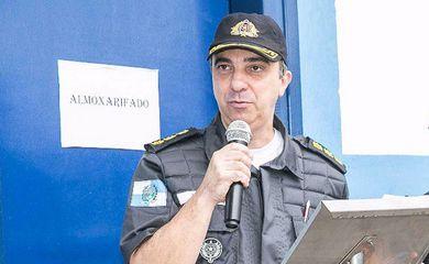 Coronel Luiz Gustavo Lima Teixeira, comandante do 3º Batalhão da Polícia Militar, no Méier, assassinado no Rio. Divulgação: PM do Rio de Janeiro.