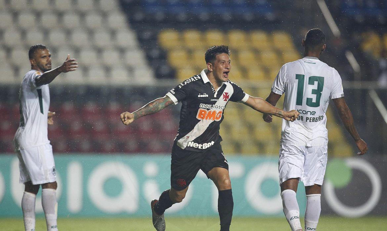 Cano comemora o gol da vitória sobre o Boavista (Foto: Rafael Ribeiro/Vasco)