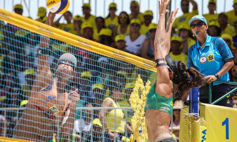vôlei de praia, dupla feminina brasileira