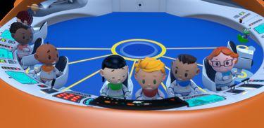 Astrobaldo e seus amigos se encontram para mais uma missão