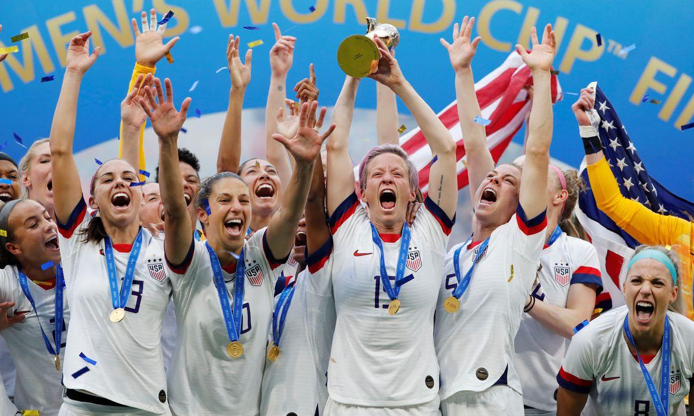 Estados Unidos vencem a Holanda na final da Copa Feminina