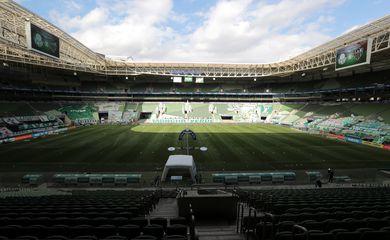Brasileiro Championship - Palmeiras v Atletico Mineiro,Allianz Parque Estádio,Futebol Brasil