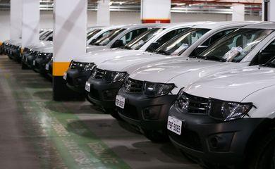 Brasília - O Ministério da Saúde entrega veículos para a saúde indígena do país (Marcelo Camargo/Agência Brasil)