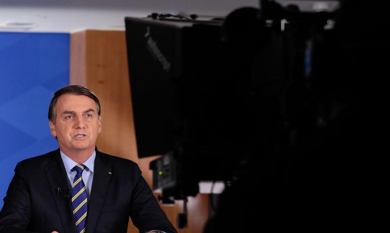O presidente da República, Jair Bolsonaro, faz pronunciamento  em Rede Nacional de Rádio e Televisão.