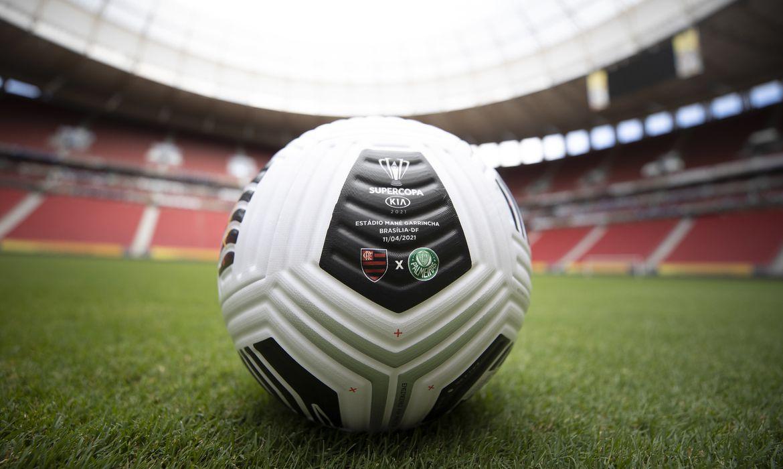 Flamengo e Palmeiras - Supercopa