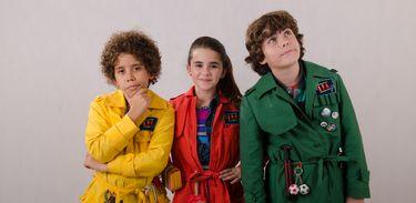 Capim, Mila e Tom são os Detetives do Prédio Azul!