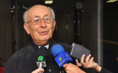 O bispo emérito da cidade de Goiás, dom Tomás Balduíno