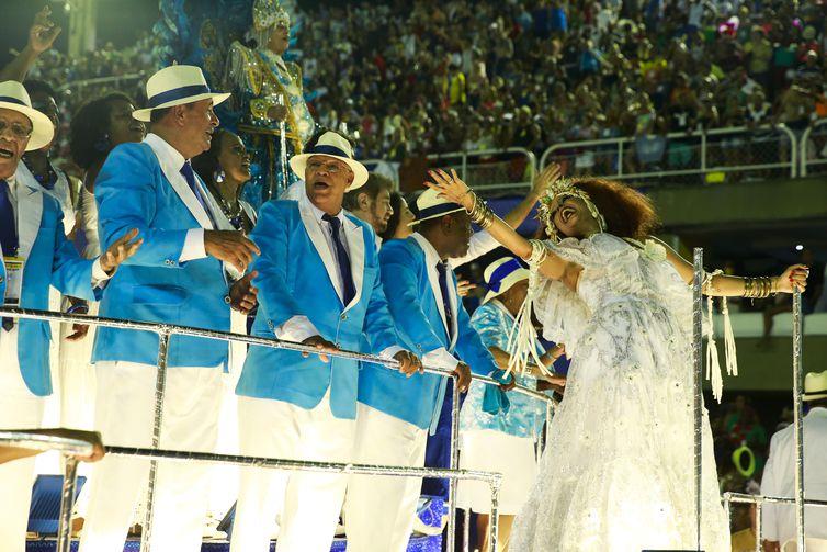Desfile da Portela, quarto lugar no carnaval  2019 no Rio de Janeiro