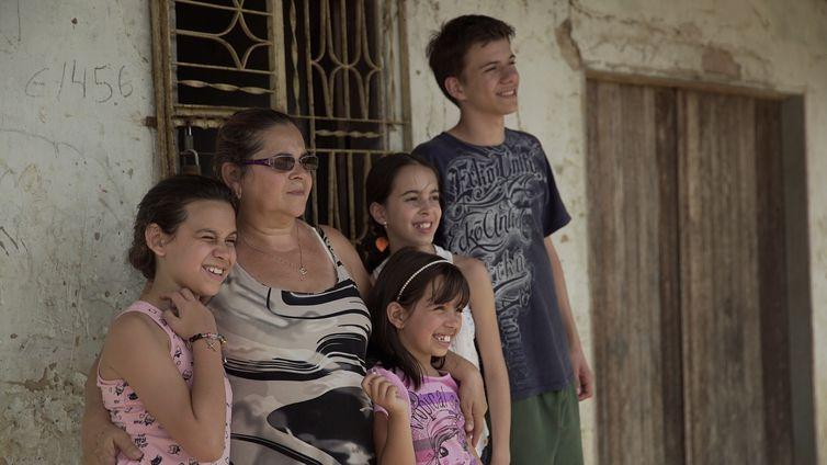 Vovó Maria e sua família