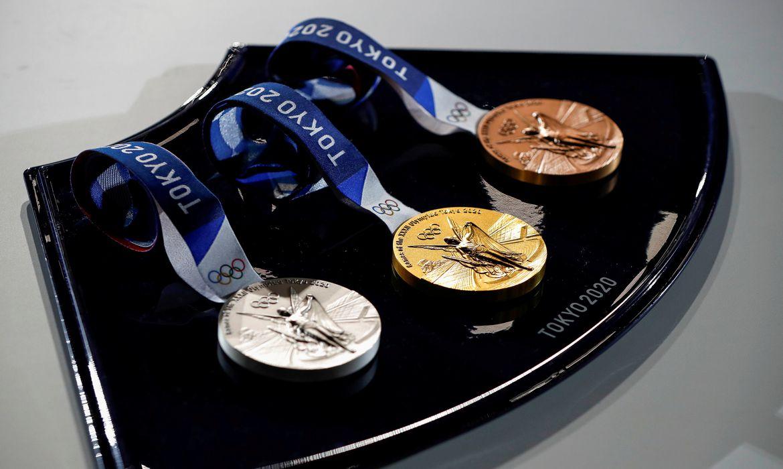 medalhas - Tóquio 2020 - Olimpíada - premiação