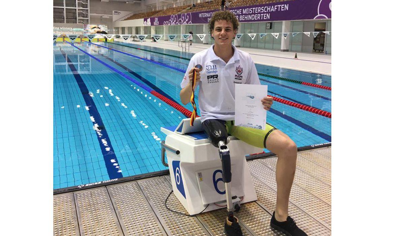 Nadador, João Lucas Bezerra