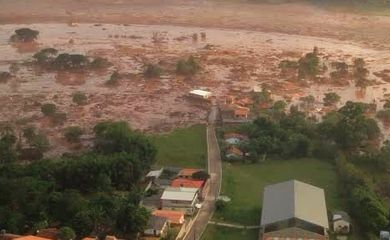Barragem da mineradora Samarco