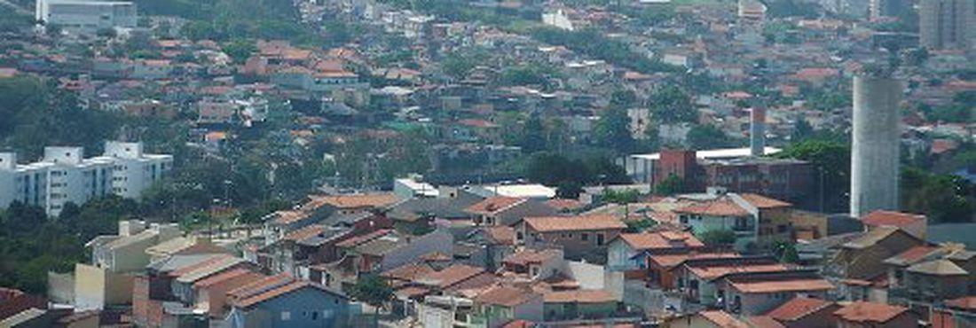 Cidade de Jundiaí vista da Pedra da Baleia