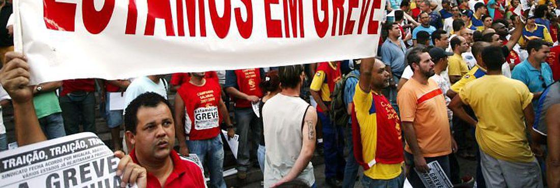 Greve de professores no Rio