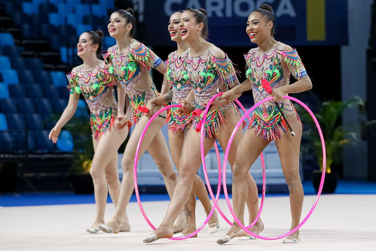 Brazil, Rhythmic Gymnastics | Gymnastics Pan American Championships Rio2021 | Jun13 | Rio de Janeirio, Brazil | Photo: Ricardo Bufolin / Panamerica Press / CBG - ginástica rítmica