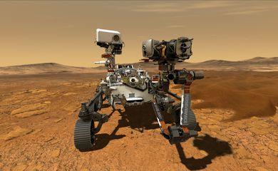 FOTO DE ARCHIVO. Imagen del Rover Perseverance, la nave laboratorio más sofisticada y de mayor tamaño en llegar a Marte, en una ilustración cortesía de la agencia espacial estadounidense. NASA/JPL-Caltech/Handout via REUTERS.  ATENCIÓN EDITORES: