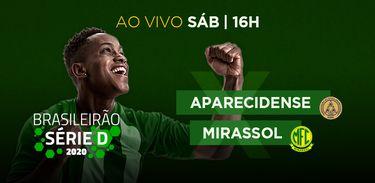 TV Brasil transmite Aparecidense (GO) x Mirassol (SP) por vaga nas semifinais da Série D neste sábado (9/1)