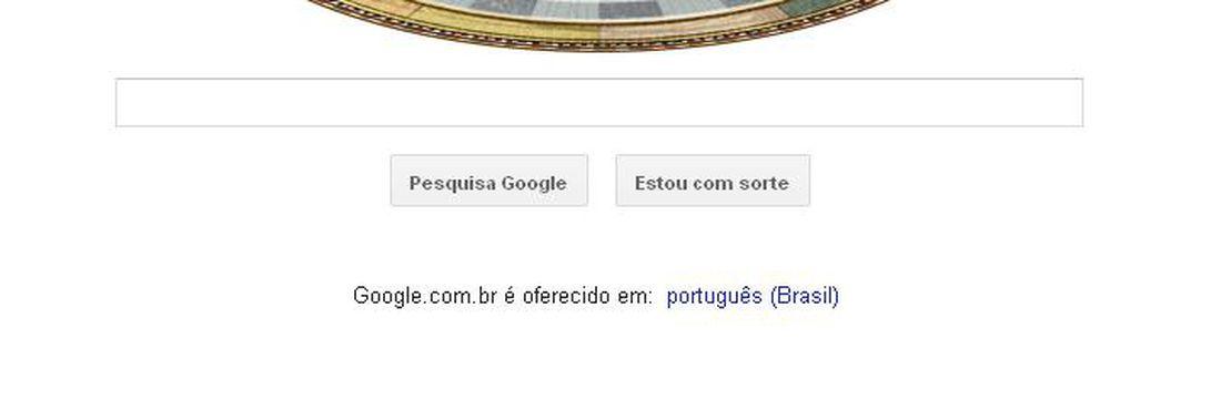 Doodle do Google faz a representação do sistema solar