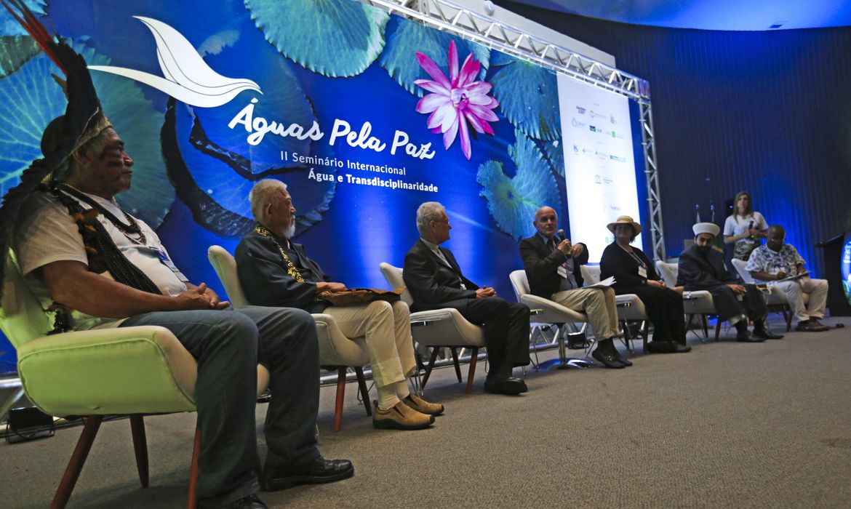 Brasília - Seminário preparatório para o 8º Fórum Mundial da Água começa a discutir o tema Água: Saberes e Tradições (Fabio Rodrigues Pozzebom/Agência Brasil)