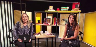 Katy Navarro entrevista a escritora Martha Medeiros no Trilha de Letras