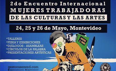 Montevidéu recebe encontro internacional de mulheres que trabalham com arte e cultura