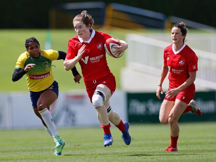 Seleção feminina de rugby vence duas vezes em torneio de Dubai - em 2/04/2021