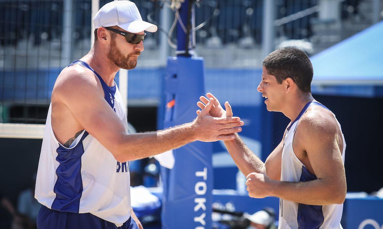 Alison e Álvaro - vôlei de praia - dupla masculina