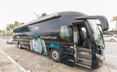 Cruz Vermelha Brasileira ganha dois ônibus da Mercedes-Benz para campanha de vacinação contra a COVID-19