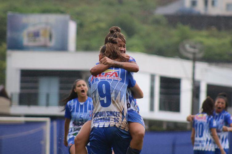Napoli-SC vence de virada, por 2 a 1, Botafogo -campeonato brasileiro feminino A2