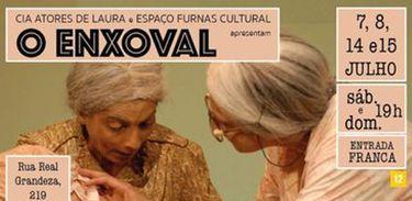 """Comédia """"O Enxoval"""" faz apresentações gratuitas no Rio"""