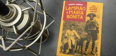 """Livro """"Lampião e Maria Bonita - Uma história de amor e balas"""", de Wagner Barreira"""