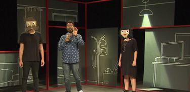 O casal Luca e Maria Carol contam que personagens de vídeo game são inspiração em projetos