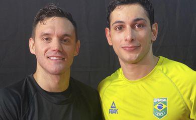 Douglas Brose e Vinícius Figueira