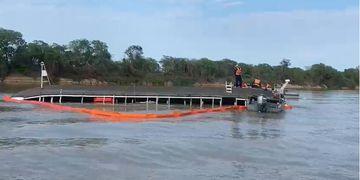 Major dos Bombeiros fala do naufrágio do Barco-Hotel no Pantanal