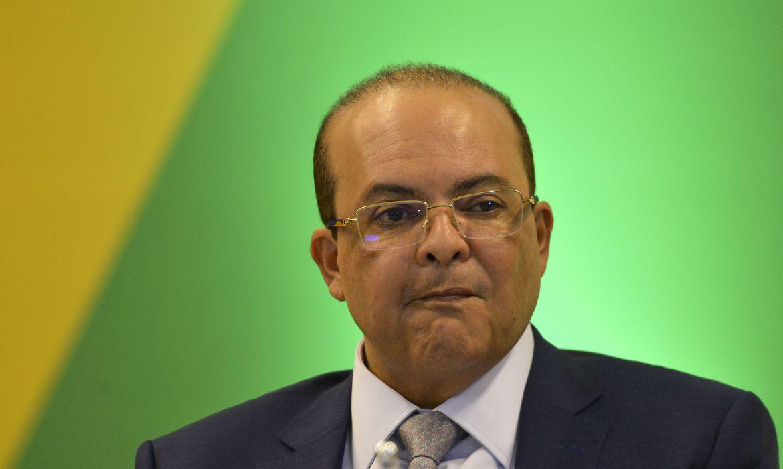 O governador eleito Ibaneis Rocha (DF),, durante Fórum de Governadores eleitos e reeleitos, em Brasília.