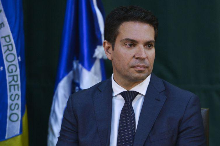 Solenidade de posse do diretor-geral da Agncia Brasileira de Inteligncia Abin Alexandre Ramagem