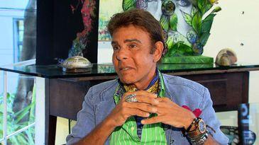 Roberto Camasmie é um dos mais renomados artistas plásticos do país