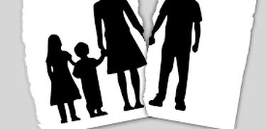 A separação dos pais pode ser muito difícil para os filhos
