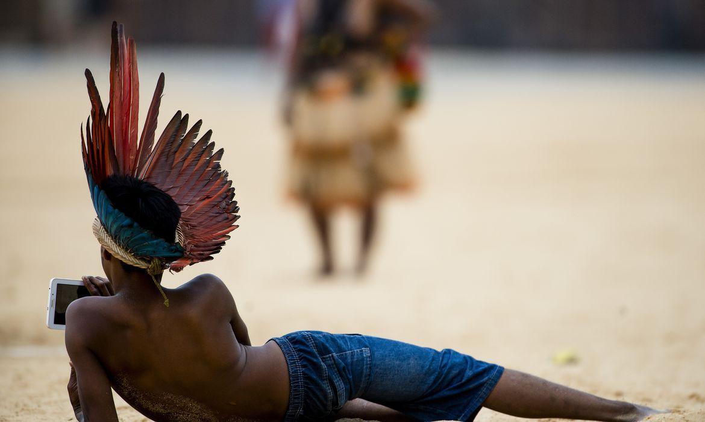 Agência Brasil 30 Anos - Jogos Mundiais dos Povos Indígenas em Palmas, no Tocantins