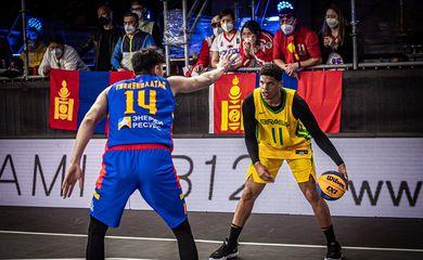 Fabrício Veríssimo, da Seleção brasileira de basquete 3x3