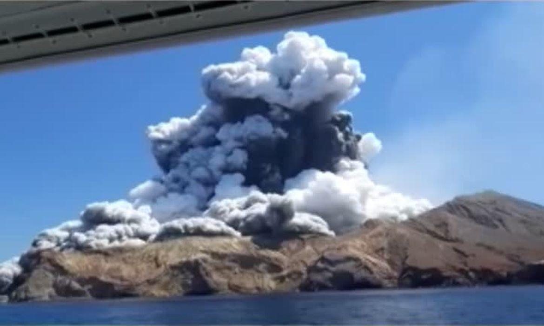 Vulcão Nova Zelandia