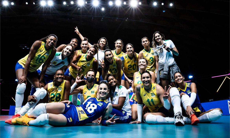 selecao feminina de vôlei na Liga das Nações