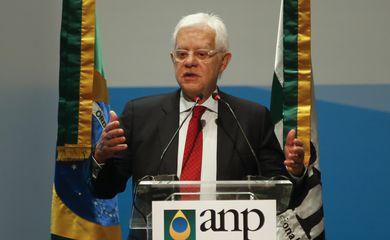 O ministro de Minas e Energia, Moreira Franco, participa da 5ª Rodada de Licitações de Partilha da Produção de petróleo em áreas do pré-sal