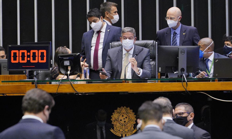 Votação de propostas. Presidente da Câmara, Arthur Lira (PP - AL).