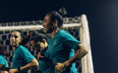seleção feminina, futebol, treino, seleção olímpica, tóquio 2020, olimpíada