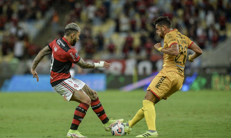 Flamengo, Barcelona de Guayaquil, Copa Libertadores