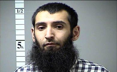 Sayfullo Saipov, acusado do ataque em Nova York